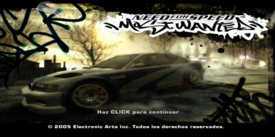 Descargar NEED FOR SPEED MOST WANTED Gratis Full Español PC